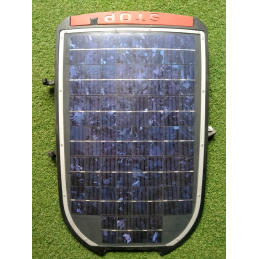Solar panel automower...